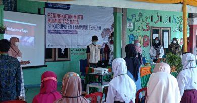 Peningkatan Mutu Komunitas Baca Se-Kabupaten Lampung Tengah